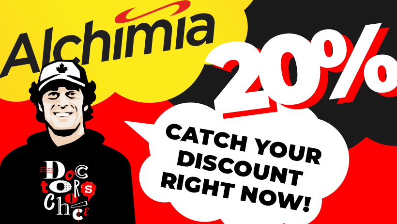 20% Discount on Doctor's Choice at Alchimia